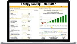 Developed web based Energy Saving Calculator for German Firm