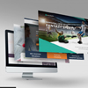 Multi-page Parallax Web Design