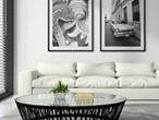 3d model white sofa