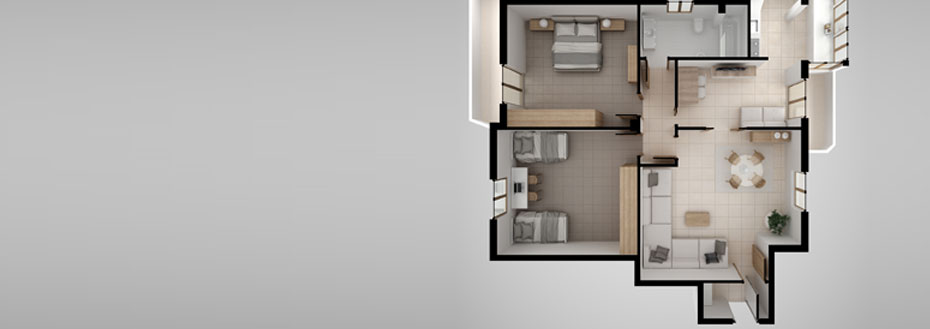 Outsource 3D Floor Plan Creation Services