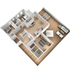 Isometric 3D Floor Plan Creation Services
