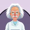 Author Portrait Illustration