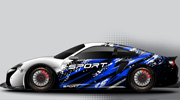 Car Wrap Designs for Sports Car