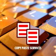 Copy Paste Services