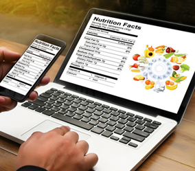 Online Data Entry for Nutritional Product Dealer