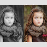 Black & White Color Conversion Services