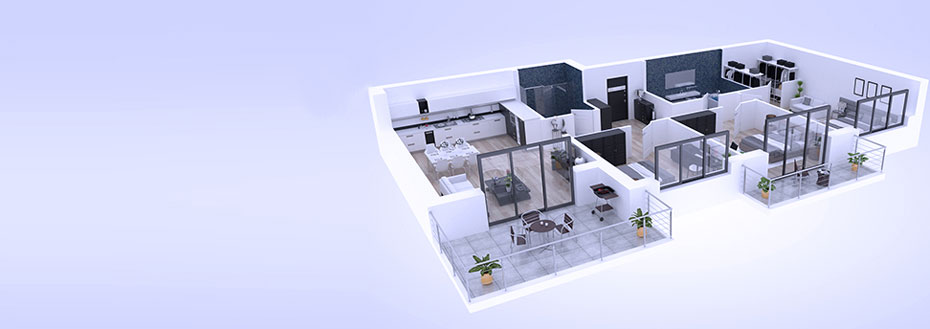 Outsource 3D Floor Plan Conversion
