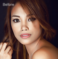 Photo Retouching Services Sample 1 Before