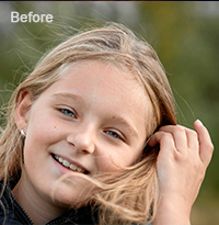 Photo Retouching Services Sample 3 Before