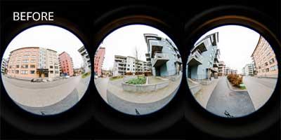 Real Estate Panoramas Before