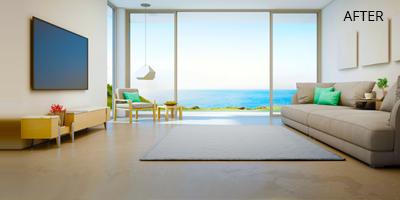 Real Estate Still Image Enhancement After