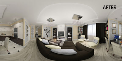 Real Estate 360 Degree Virtual Tour After