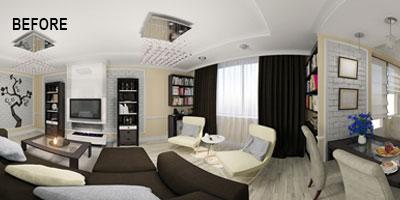 Real Estate 360 Degree Virtual Tour Before