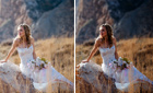 Retouching Wedding Photos using Photoshop