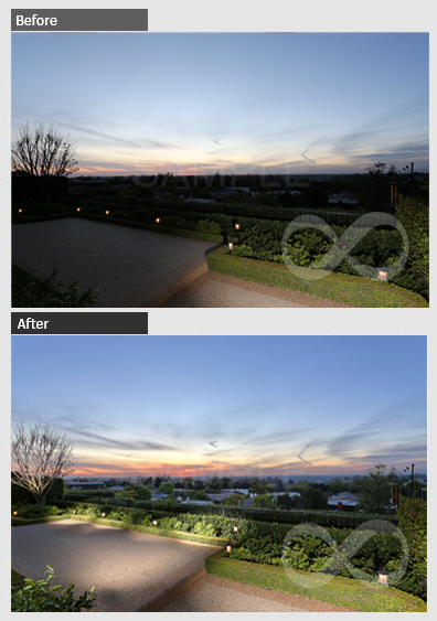 HDR Blending & Enhancement Samples