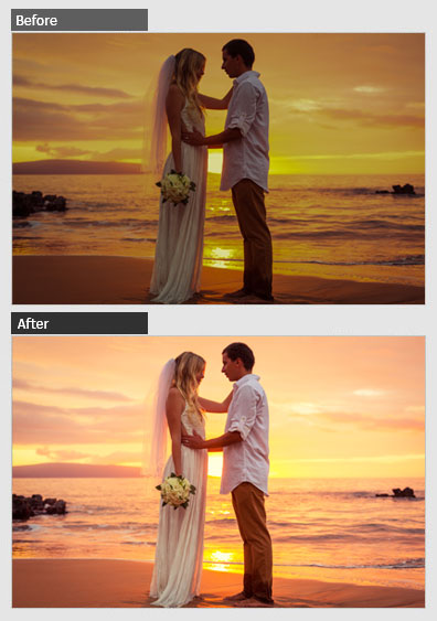 wedding photo editing services