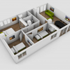 3D Floor Plan Creation