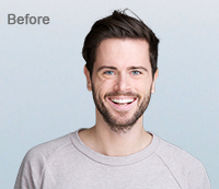 Background Removal with Photoshop Before
