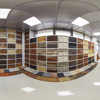 Cylindrical Panorama Stitching for Stores