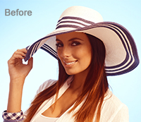 Photoshop Color Correction Before