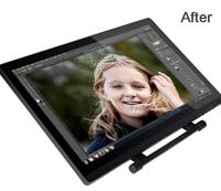 Photoshop Image Enhancement using Pen Tablet After