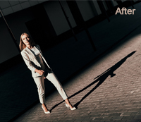 Photoshop Shadow Effects After