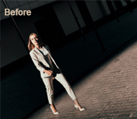 Photoshop Shadow Effects Before