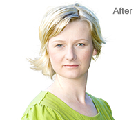 Portrait Photo Enhancement with Photoshop After