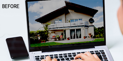 Real Estate Photo Enhancement Services Before