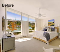 Real Estate Photo Enhancement with Photoshop Before
