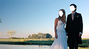 Wedding and Reception Photomontage