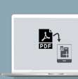 PDF to DWG using microStation
