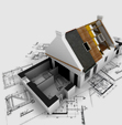 architectural 3d engineering floor plan