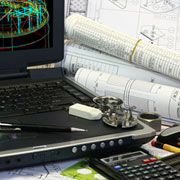 AutoCAD construction drawings