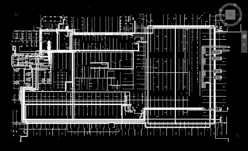 Electrical Model of a high-rise building