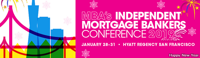 MBA's Independent Mortgage Bankers Conference 2019