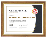 Flatworld Solutions Partners with U&I Certificate