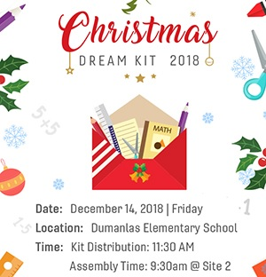 Flatworld Solutions PH Christmas Dream KIT Distribution