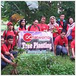 Flatworld Solutions Tree Planting Drive