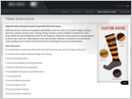 socks manufacturer info