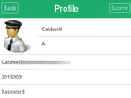 taxicab app profile
